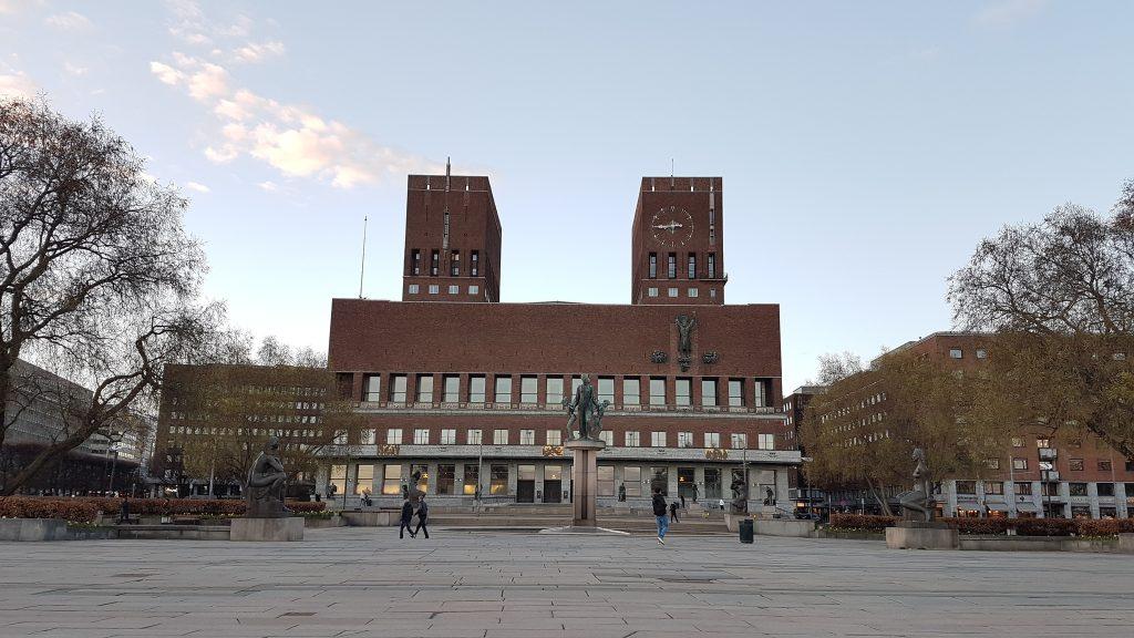 Budova radnice, Oslo