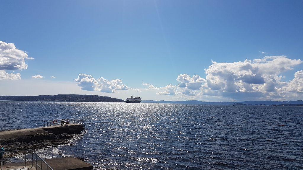 Výhľad na záliv z poloostrova Bygdøy, Oslo