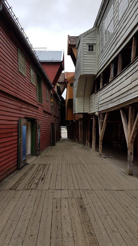 Historická časť prístavu Bryggen, Bergen
