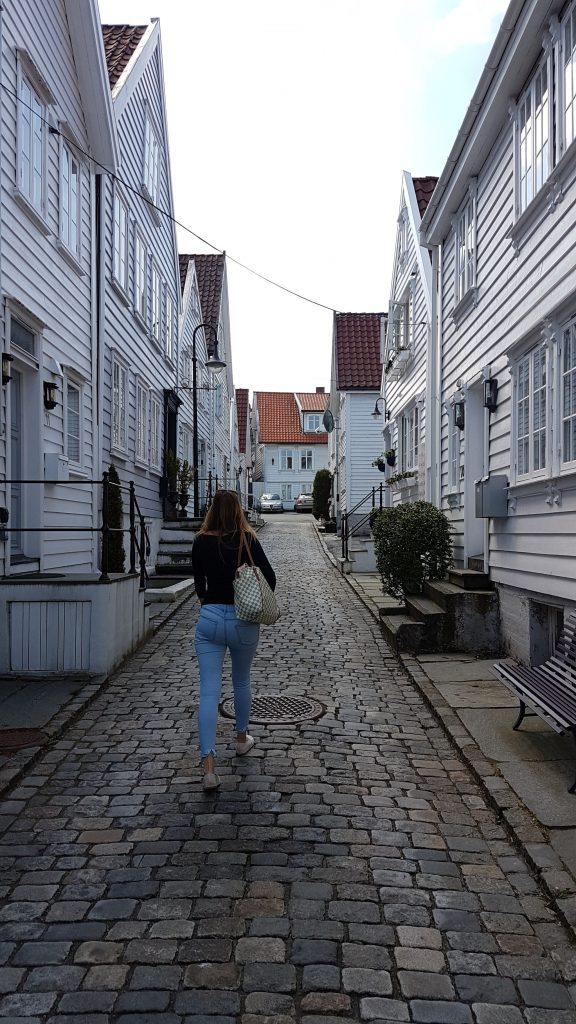 Uličkami starého Stavangeru