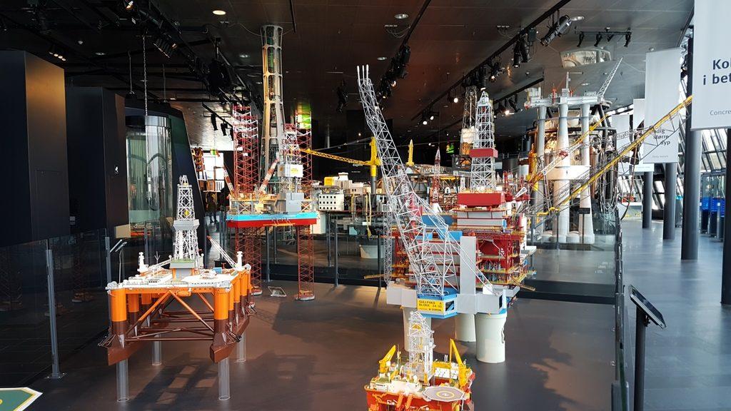 Evolúcia techniky pri ťažení, Nórske múzeum ropy