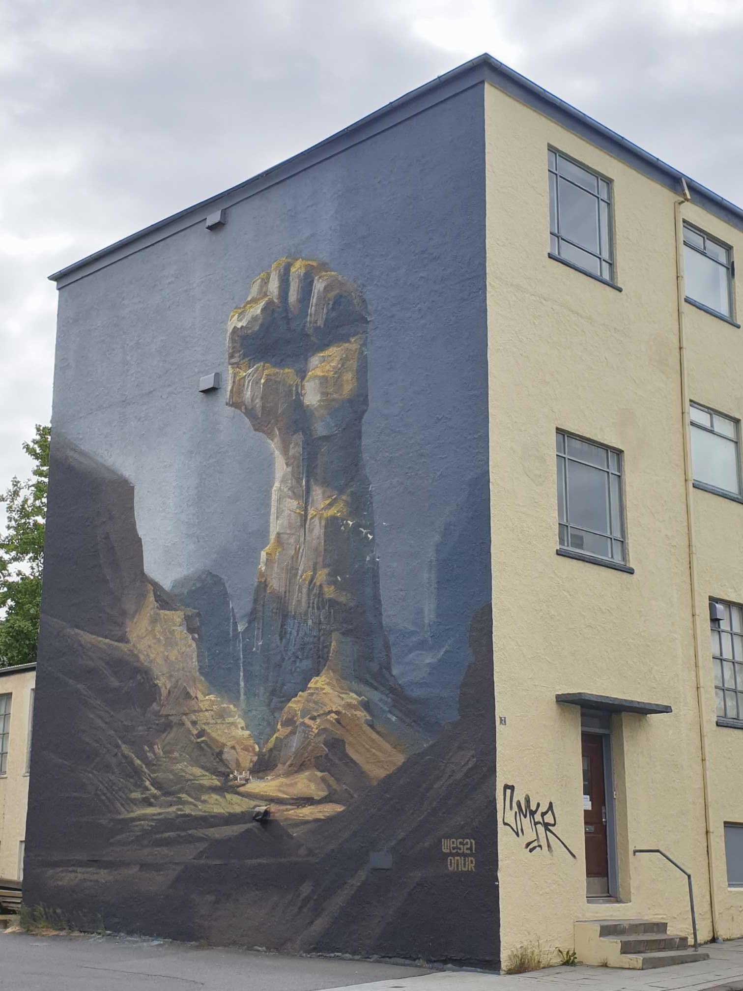 Pouličné umenie v Reykjavíku