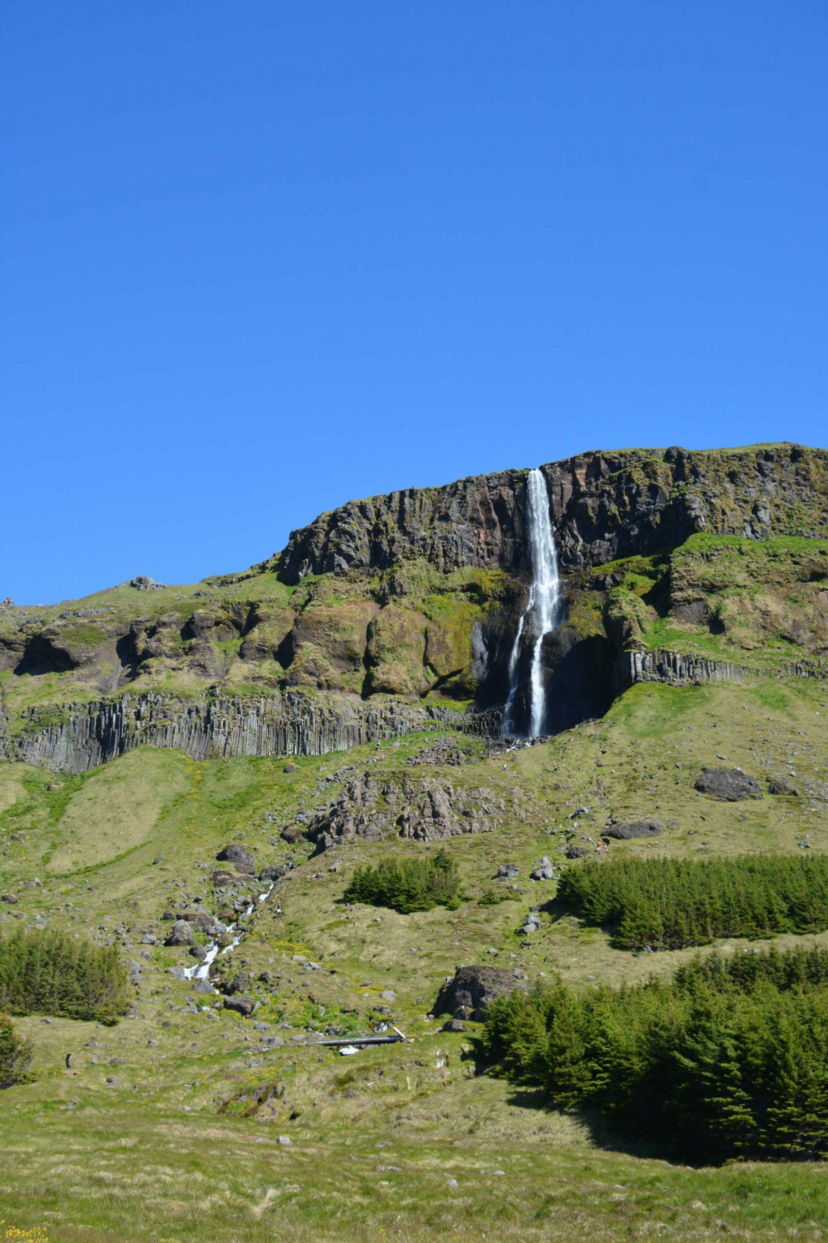 Vodopád Bjarnarfoss