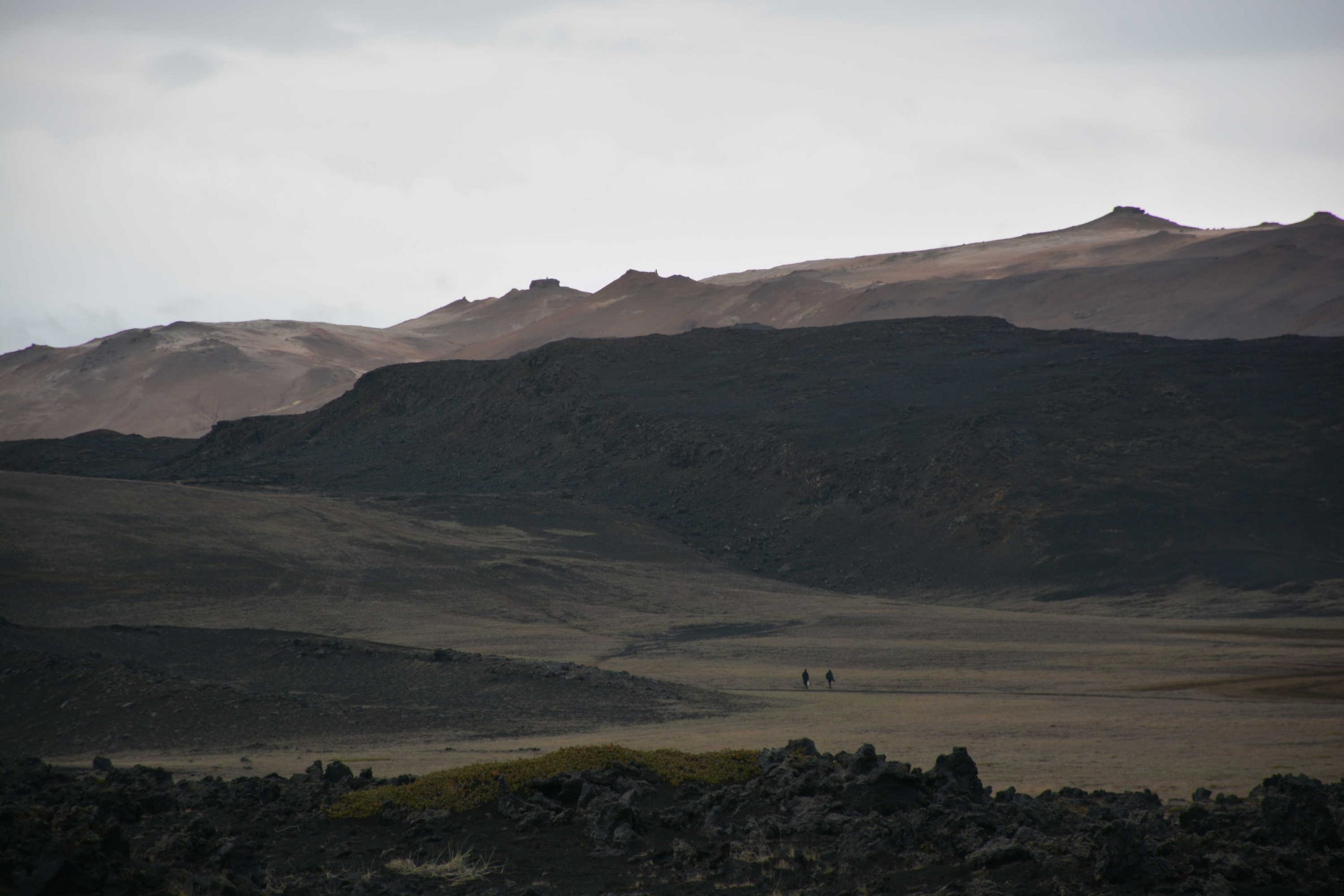 na prechádzke nehostinnou Islandskou krajinou