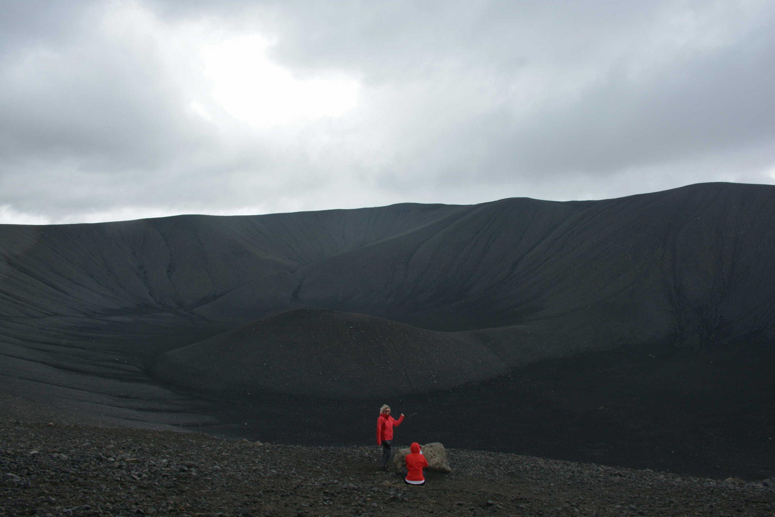 rastliny si na vulkán zatiaľ nenašli cestu