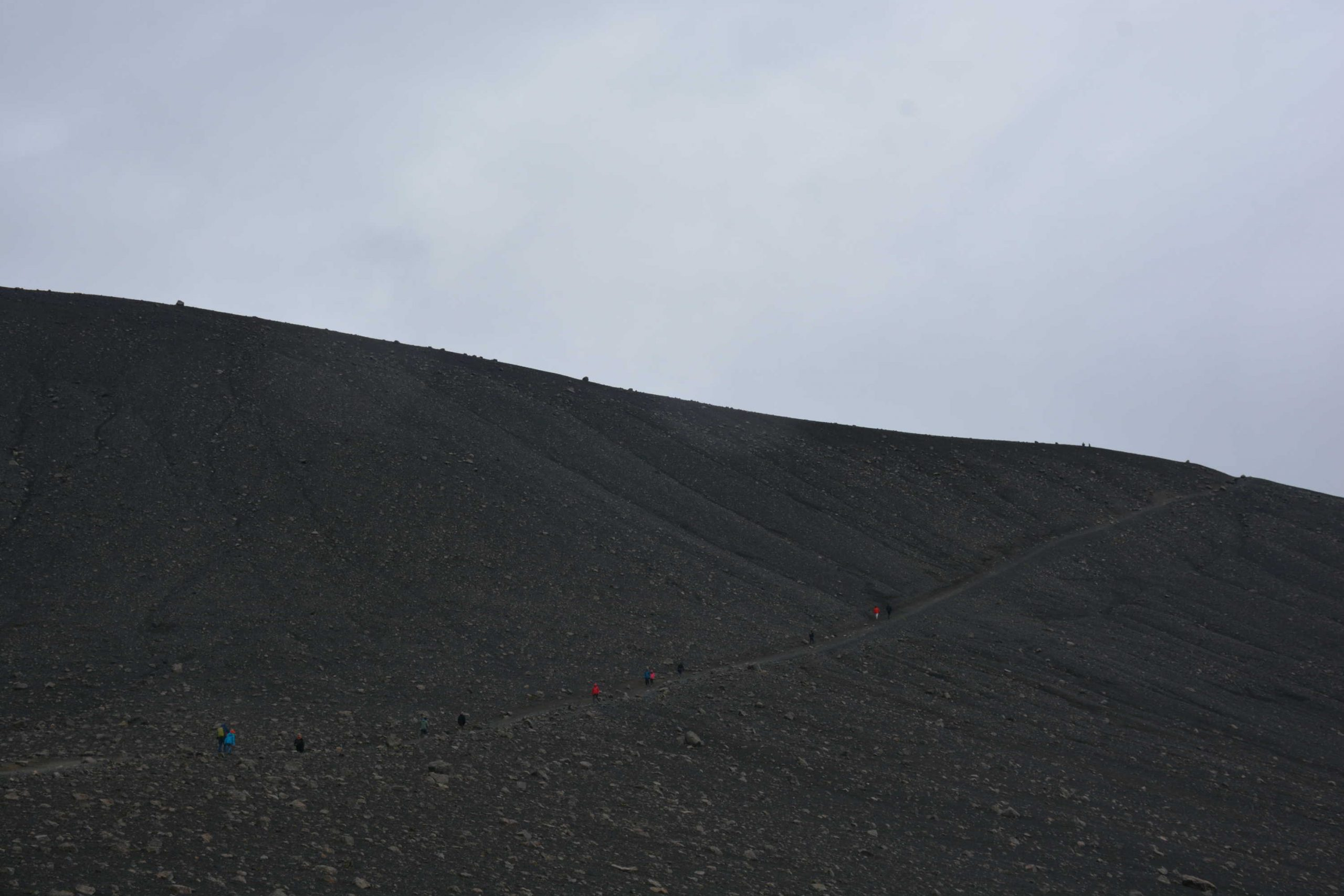 výstup na vulkán Hverfjall