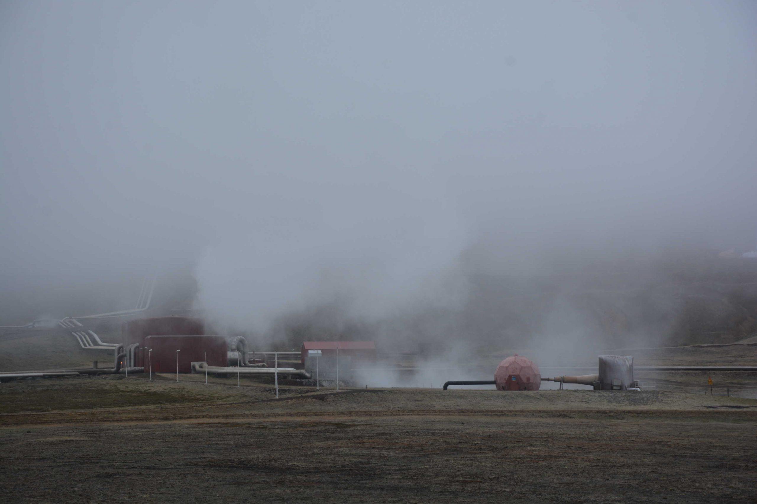 geotermálna elektráreň Krafla