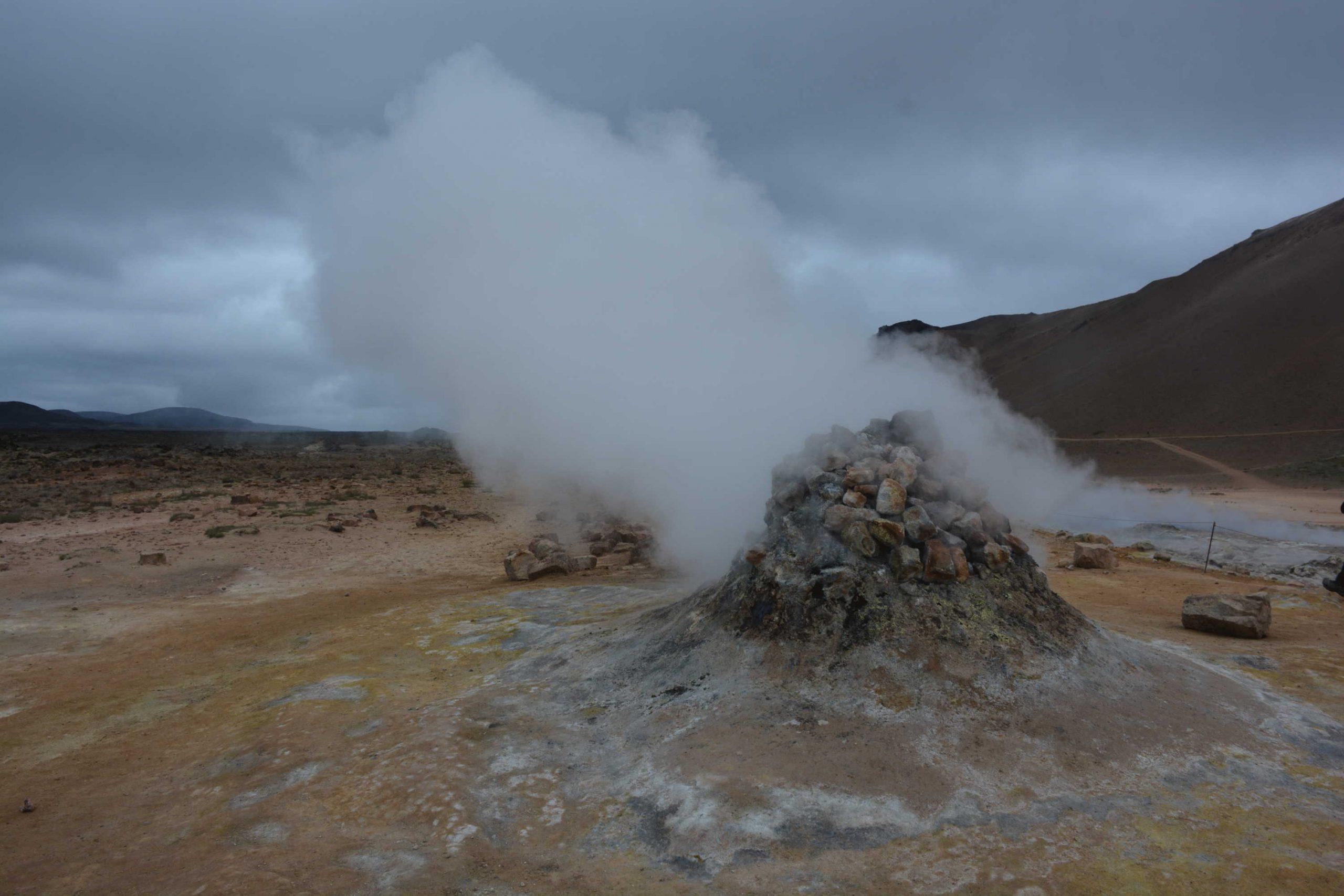 geotermálna plošina Hverir
